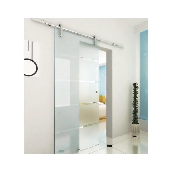 Porte coulissantes en verre paisseur verre 10 12 mm for Epaisseur porte coulissante