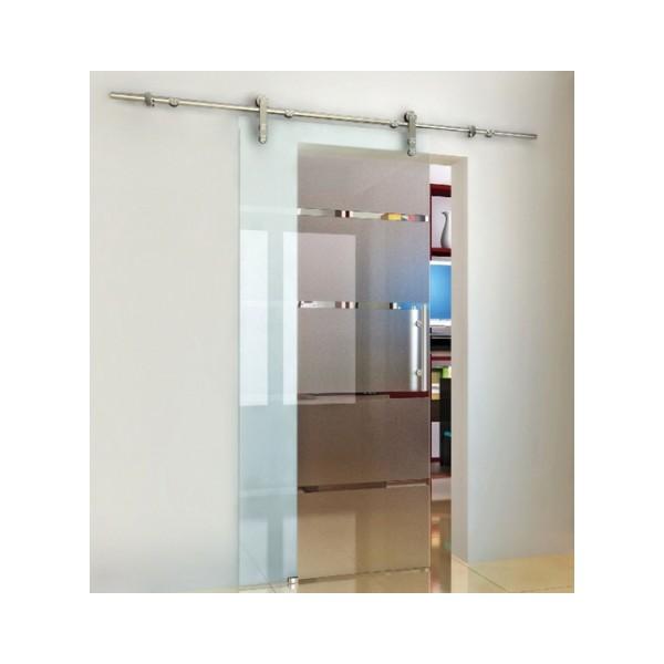 Porte coulissantes en verre paisseur verre 8 10 mm for Epaisseur porte coulissante