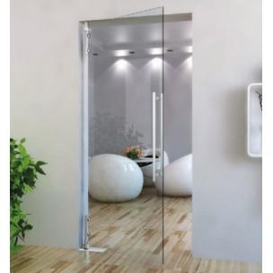 porte battante en verre paisseur verre 10 12 mm ferrure verre. Black Bedroom Furniture Sets. Home Design Ideas